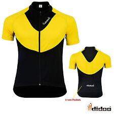 Didoo Maillot Ciclismo Hombre Camisa Manga Corta Bicicleta Antigua