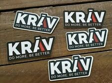 5 Krav Do more be better Stickers Skydiving Skydive Parachute  Free Shipping