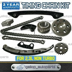 Timing Chain Guide Gear Kit for Mazda 3 5 6 MPV Premacy Tribute 2.3L Non Turbo