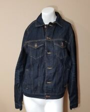 Lucky Brand Jeans Mens McKinney Denim Jeans Jacket Vintage Icon Small NWT $129