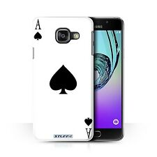 STUFF4 Back Case/Cover/Skin for Samsung Galaxy A3 (2016)/Playing Cards