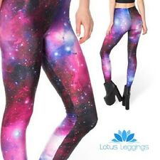 LOTUS Leggings Galaxy stampato Leggings LARGE/DONNA/WOMEN'S/Cosmo/Universo/NUOVO