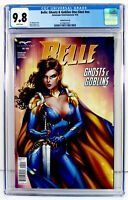 BELLE: GHOSTS & GOBLINS ONE-SHOT CGC 9.8 Sabine Rich Variant Cover B ZENOSCOPE