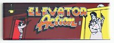 Elevator Action Marquee FRIDGE MAGNET arcade video game header
