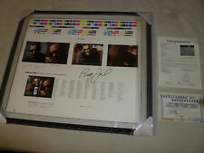 FRAMED SIGNED BILLY JOEL GREATEST HITS 3 UNCUT CD INSERT SHEET PRINT JSA COA
