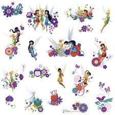 Disney FAIRIES best fairy friends wall stickers TINKERBELL 18 decals decor pixie