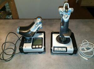 Saitek Flight Control Series X52 Joysticks HOTAS