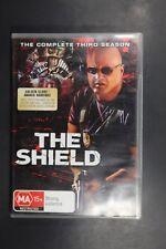 The Shield : Season 3 (DVD, 2007, 4-Disc Set)   (Box D201)