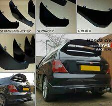 Honda Civic Type R/ep3/HONDA TYPE S/Honda Civic ep3/DIFFUSEUR/pare-chocs nageoires