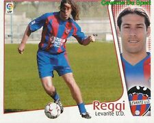 GUSTAVO REGGI ARGENTINA LEVANTE.UD CROMO STICKER LIGA ESTE 2005 PANINI