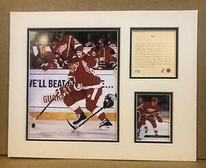 Detroit Red Wings SERGEI FEDEROV 1994 Hockey 11x14 MATTTED Kelly Russell Print