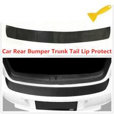 3D Carbon Fiber Sticker Vinyl Decal Car Tail Trunk Bumper Guard Protector Cover