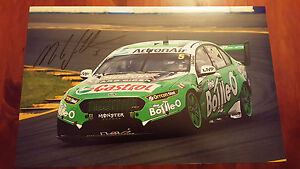 MARK WINTERBOTTOM SIGNED BOTTLE O RACING 2017 PHOTO 18X11 INCH