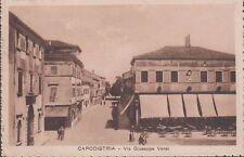 Capodistria - Via Giuseppe Verdi - Viaggiata.