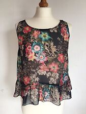 Women's Floral & Lace Forever 21 Vest Top Size S Cheap Spring/Summer
