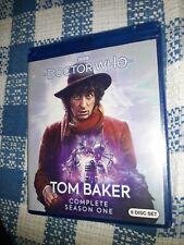 New listing Doctor Who - Tom Baker Season 1 Blu ray No Slipcover* (Sealed New!)