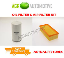 DIESEL SERVICE KIT OIL AIR FILTER FOR FORD TRANSIT TOURNEO 2.5 101 BHP 1998-00