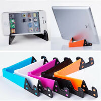 Universal Phone Mobile Holder Desktop Tablet PC Foldable Stand Mount Cradle New