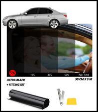 CAR AUTO HOME WINDOW TINT FILM TINTING LIMO ULTRA BLACK 5% 50x300CM