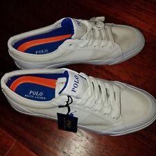 new RALPH LAUREN POLO men shoes white 9.5D MSRP $100