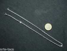 stock 10 collane catena argento bigiotteria minuteria moschettone ingrosso vendi