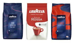 (1x1kg) Lavazza Gran Espresso Dark Roast,Qualità Rossa,Super Gusto Coffee Beans