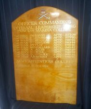 More details for army physical training corp commanding officer board arborfield garrison 1977-96