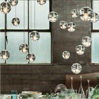 NEW Modern Pendant Light 1/5/7 DIY Design Crystal Globe Chandeliers Ceiling Lamp