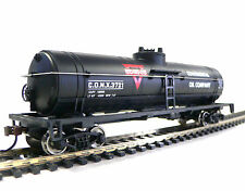 Free Shipping! HO Scale Model Railroad Trains Conoco Oil Tanker Car 931-1614