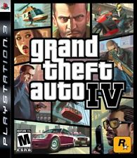 Grand Theft Auto Iv - Sony Playstation 3 Game