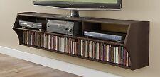 Prepac ECAW-0208-1 Altus Plus Audio/Video Wall Mounted Console Tv Stand Espresso