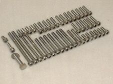 TRIUMPH Daytona,Trophy 1200 Stainless Allen Bolts kit for engine casings 43pcs