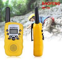 2PCS Baofeng T3 Walkie Talkie 12CH UHF CTCSS DCS VOX GMRS 2 Way Radio Long Range