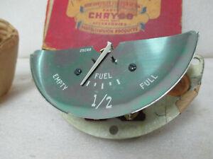 Mopar NOS 1950 Plymouth Deluxe Special Deluxe Fuel Gauge 1340337