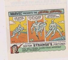 1978 Topps Marvel Comics Unused Sugar Free Gum Wrapper Silver Surfer #4