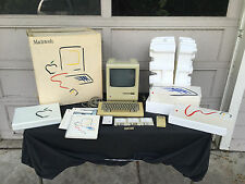 1984 Macintosh 128k M0001 System - IN ORIGINAL BOX - Once in a Lifetime Find!