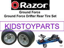 Razor Ground Force Drifter Scooter Rear Wheel Set of 2 Wheels Genuine Tires