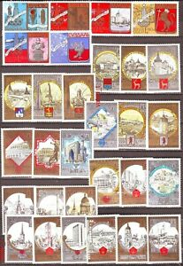 1980 Russia Sommer Olimpic Moscow'80,Tourizm,Golden Ring full set one scan MNH**
