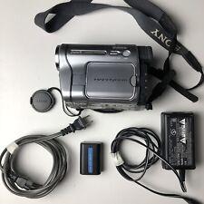 Nice Sony Handycam Dcr-Trv280 Camcorder Hi8 8mm Digital Video Camera Tested