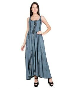 Jordash Dress Long Elasticated TD Grey
