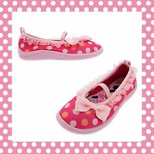 Disney Store Minnie Mouse Clubhouse Swim Water Shoes Toddler Girl 6 Pink