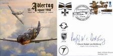 CC54d Adlertag WWII WW2 BoB Battle of Britain RAF cover signed RETTBURG KC