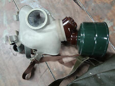 Military Issued Gas Mask Halloween Costume Survival Haunted Zombie Apocalypse