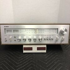 YAMAHA CR-800 VINTAGE STEREO RECEIVER - SERVICED - CLEANED - TESTED