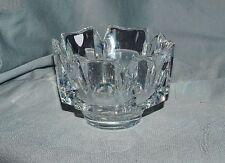 Glasschale Kristallschale Orrefors, signiert