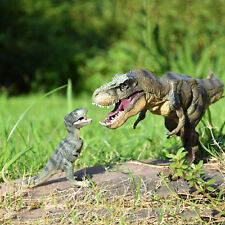Jurassic Tyrannosaurus Rex + Baby T-Rex Dinosaur Toys Figure Kids Christmas Gift
