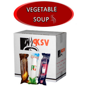 Vegetable Soup for 73mm In-Cup Vending Machines INCUP Drinks x300