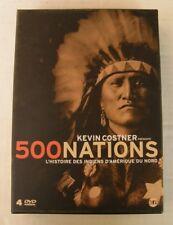 COFFRET 4 DVD - 500 NATIONS : L'HISTOIRE DES INDIENS D'AMERIQUE DU NORD