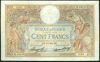 FRANCE 100 FRANCS LUC OLIVIER MERSON du 4/7/1935 ETAT:   TTB   # M 49039