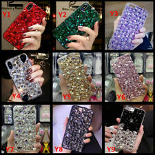 For Samsung Galaxy A10/A20/A30/A40/A50/A70 Glitter Case Cover+Tempered flim